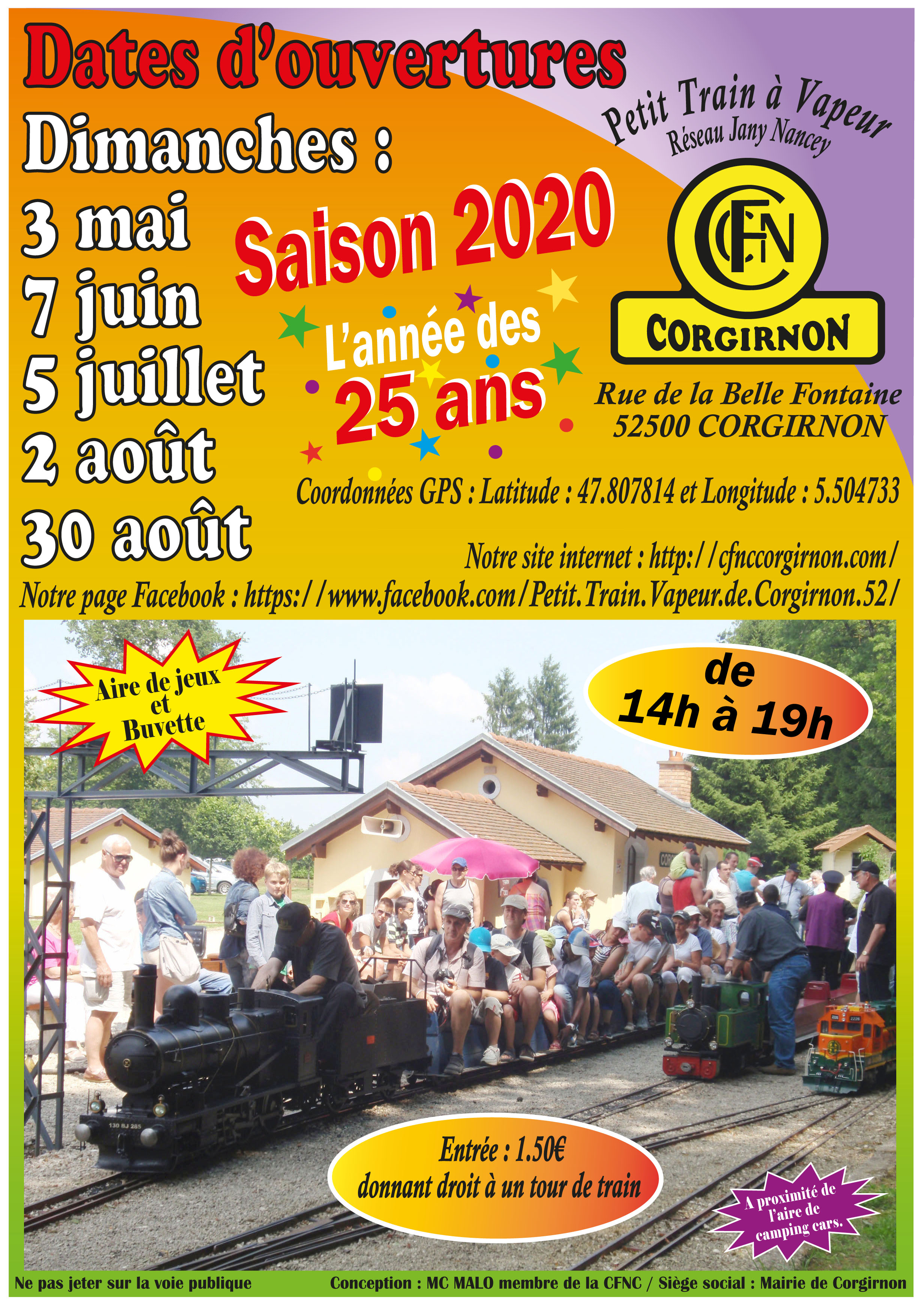 Dates Saison 2020